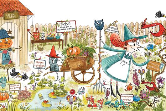 Un Jardin de Sorcière! | Jess Pauwels Illustrations